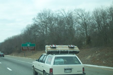 Station Wagon with 2 Tailgates